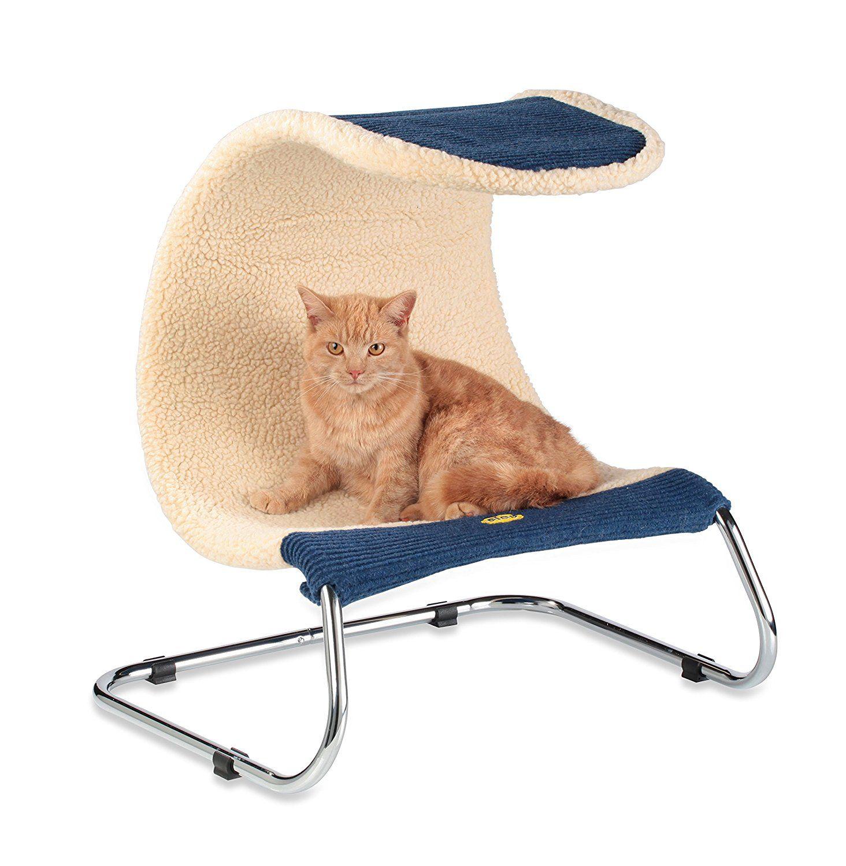 Cleo Zen Snoozer Cat Bed Blue Cat bed, Blue bedding