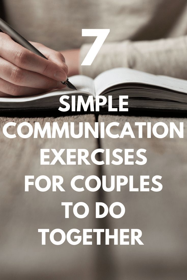 Communication Exercises For Couples 7 Activities You Can