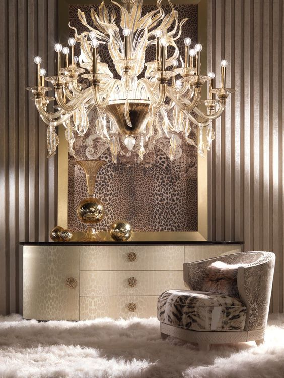 Roberto Cavalli Home - Interiors #CavalliHomeMiami #CasaCollezioni ...