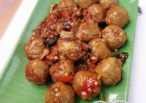 Resep Bakso Bledek Bakso Setan Oleh Kheyla S Kitchen Resep Makanan Dan Minuman Bakso Resep