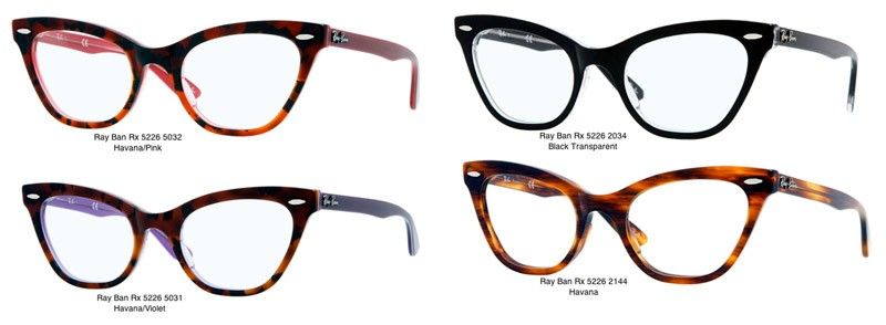 7aad24fcaa Ray Ban cat eye frames