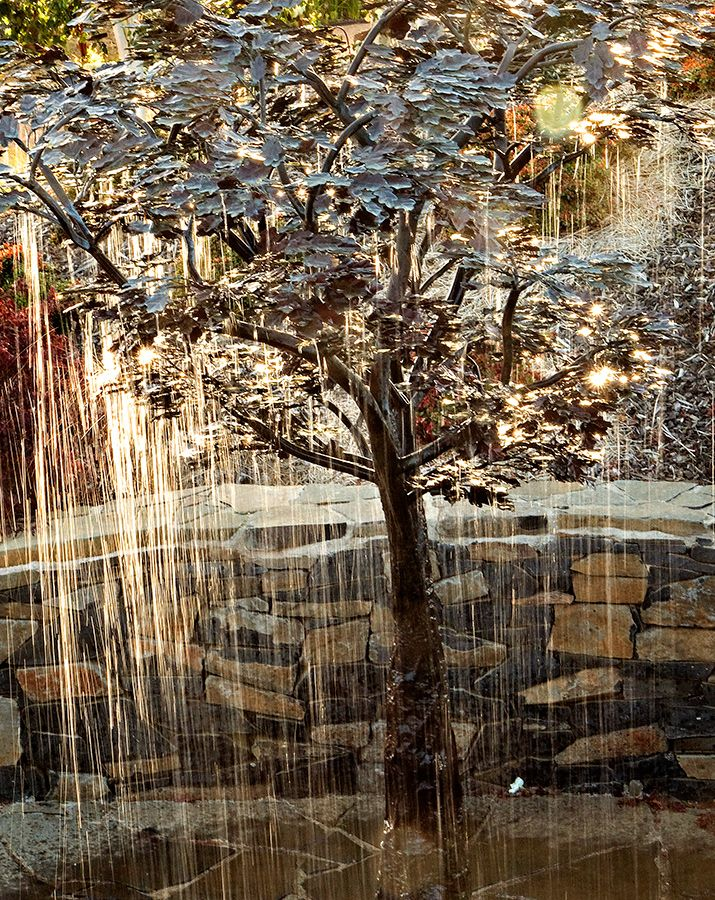 Copper Tree Water Feature Google Search Copper Tree