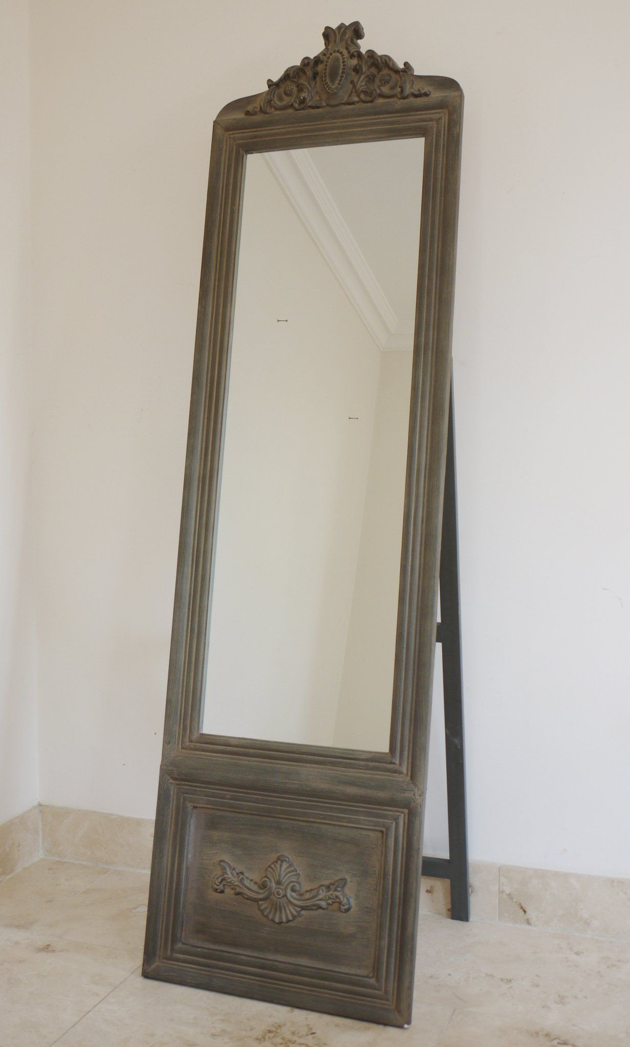 Shop online for Ornate Cheval Mirror Vintage Effect, from Furniture ...