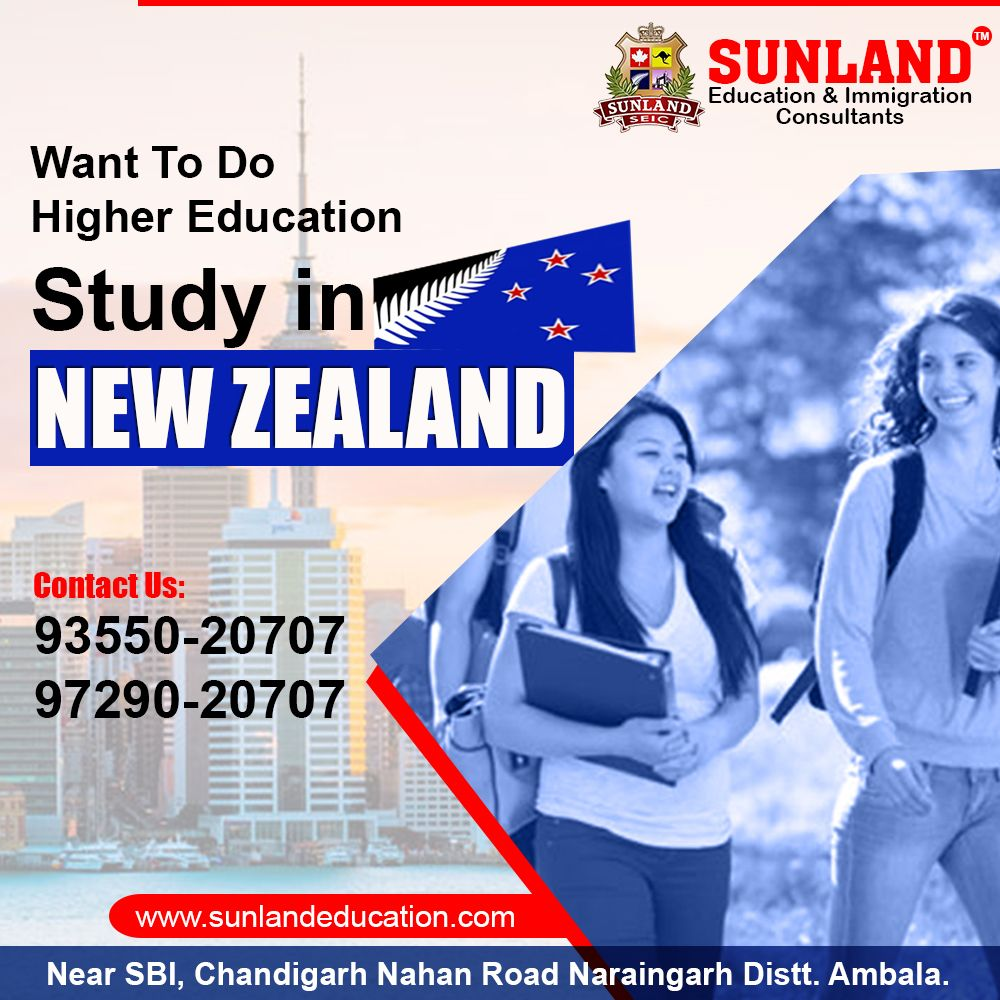 Are Looking For New Zealand Study Visa In Naraingarh Apply For