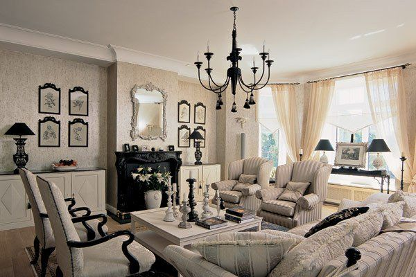 French Style Living Room 5 Autumn French Living Rooms Best