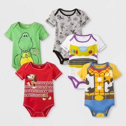 Toy Story Size 6-9 MO Disney Buzz Lightyear Stretchie for Baby