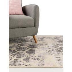 benuta Kurzflor Teppich Zola Pink 133×190 cm – Moderner Teppich für Wohnzimmer benutabenuta