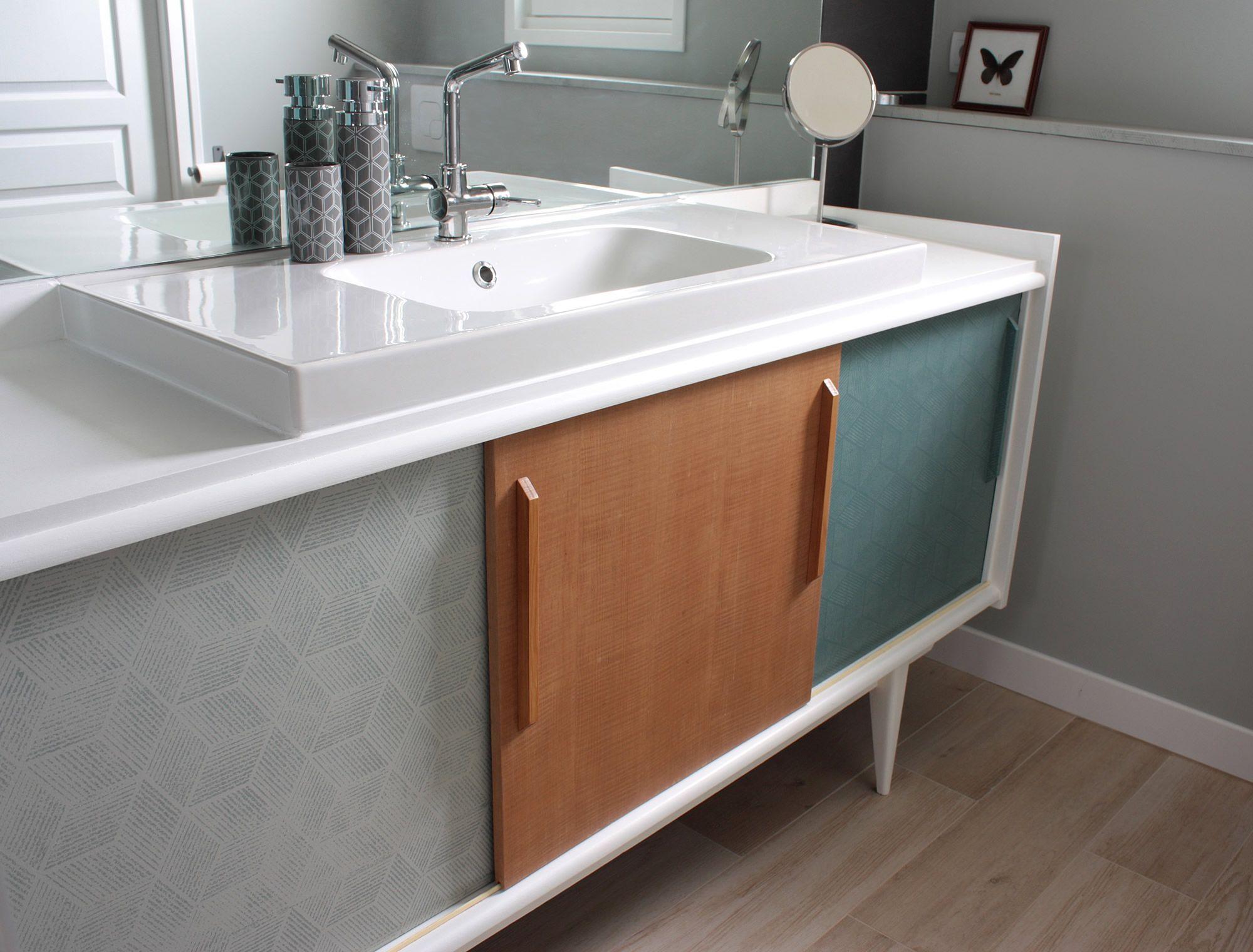 Affiche Salle De Bain Retro ~ meuble de salle de bain vintage sdb pinterest meubles de salle