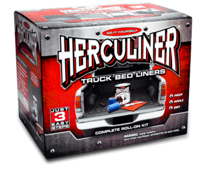 Gallon Container Herculiner RollOn Black Truck Bed Liner