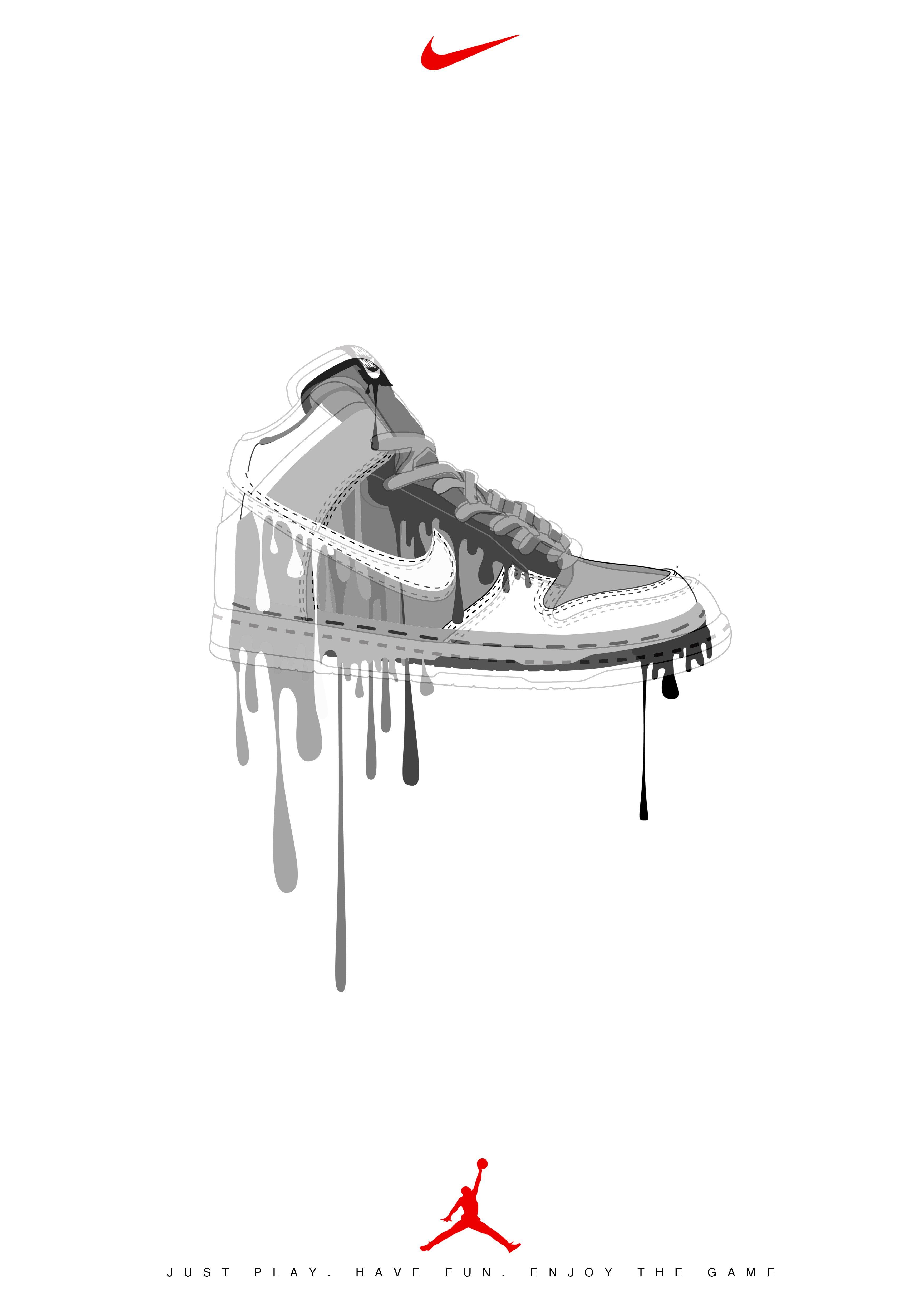 Advertising おしゃれまとめの人気アイデア Pinterest Hiraku Ando 19 Nike 靴 靴イラスト ナイキ