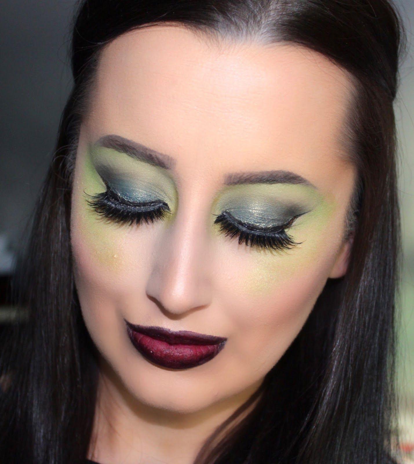Wicked witch halloween makeup tutorial ashley elizabeth wicked witch halloween makeup tutorial ashley elizabeth baditri Images