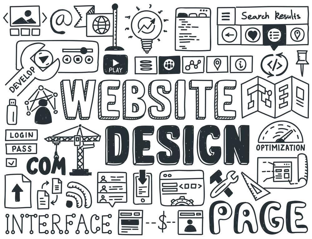 Doodle Icons By Shutterstock Designs De Websites Web Design Blog