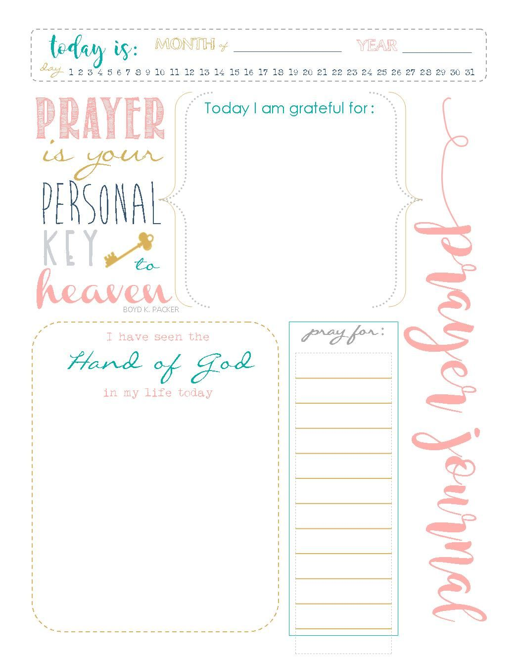 Start A Prayer Journal For More Meaningful Prayers Free