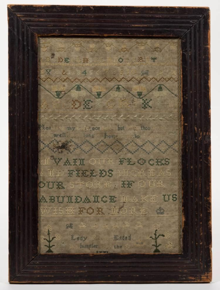 BRITISH NEEDLEWORK SAMPLER (With images) Vintage