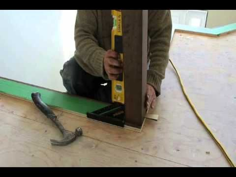 How to install a newel post?   Newel posts, Stair newel ...