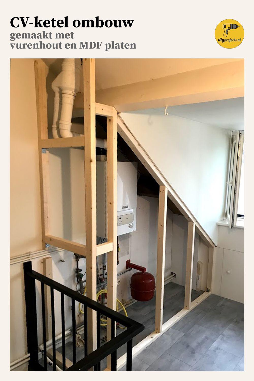 Ombouwkast voor je cv ketel Zolder huis, Zolder ombouwen