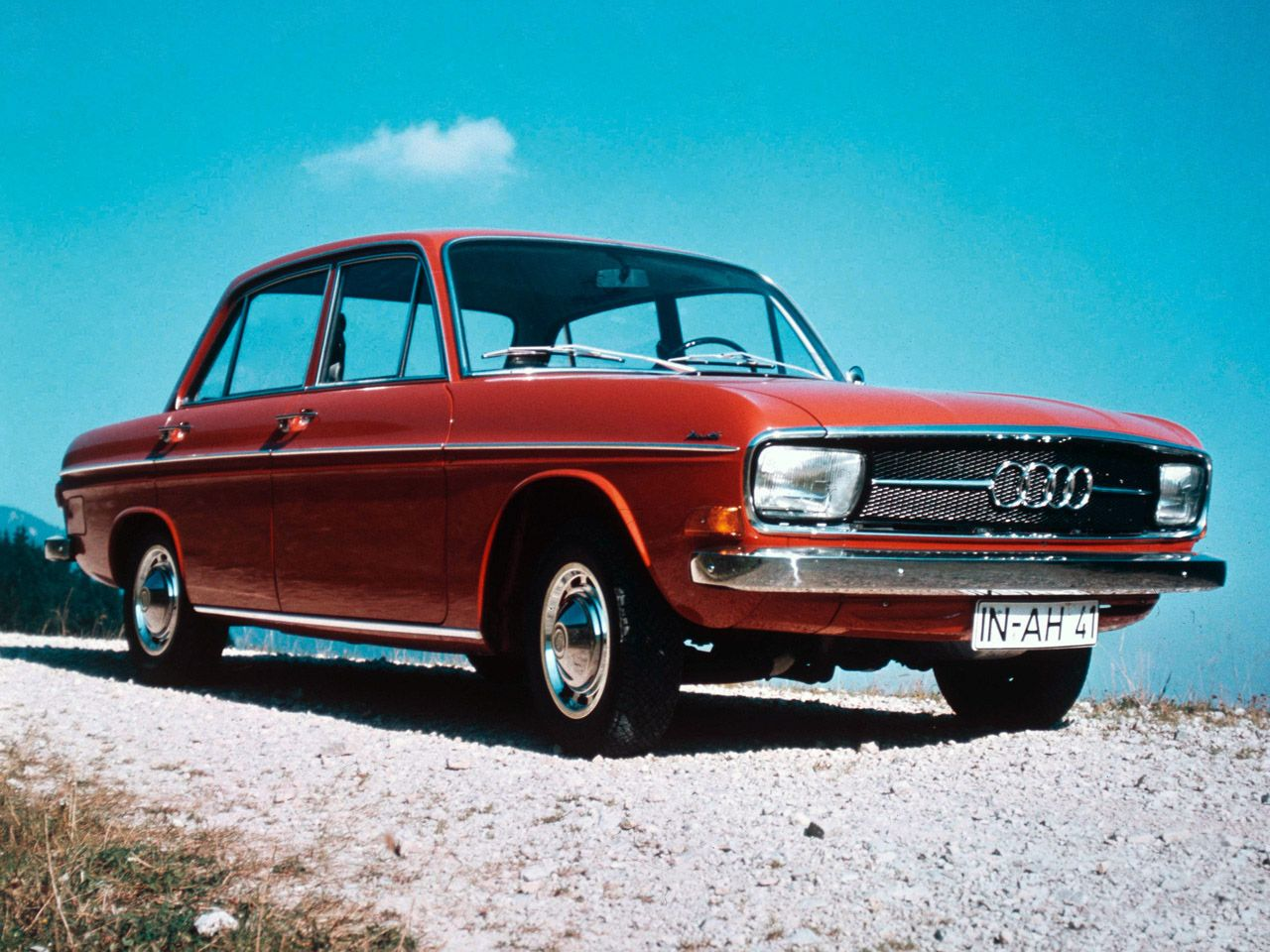 Car, Oldtimer, Audi 60, about 1970 | Convertibles and other cars ...