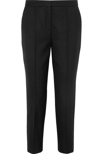 562885a80 By Malene Birger Santsi Twill Tapered Pants - Black in 2019 ...