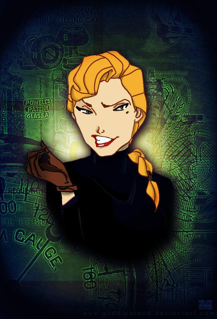 My fav Disney biddy by ~GuddiPoland on deviantART Helga Sinclair from Atlantis