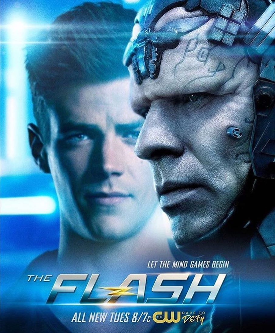 The Thinker And The Flash Official Season 4 Poster Series E
