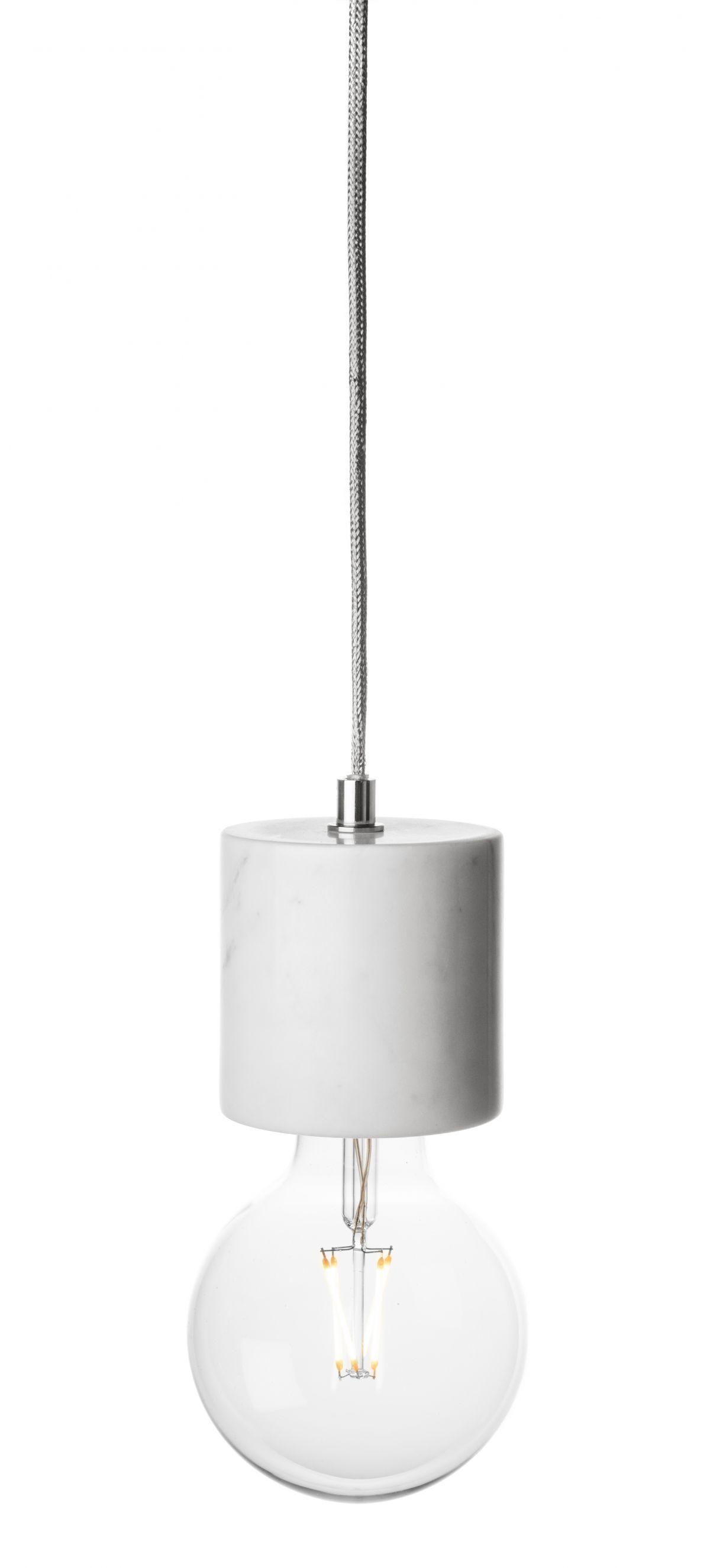 bare bulb marble pendant white rove concepts kure mid century