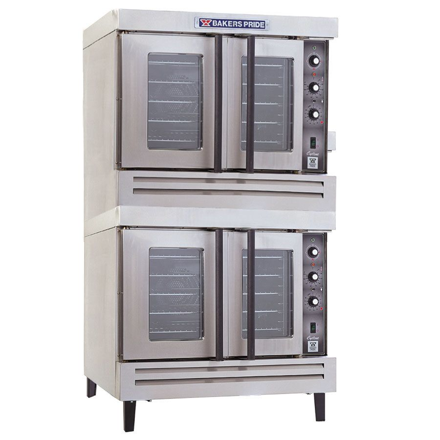 Bakers Pride BCO-E2 Cyclone Series Electric Convection Oven Double ...