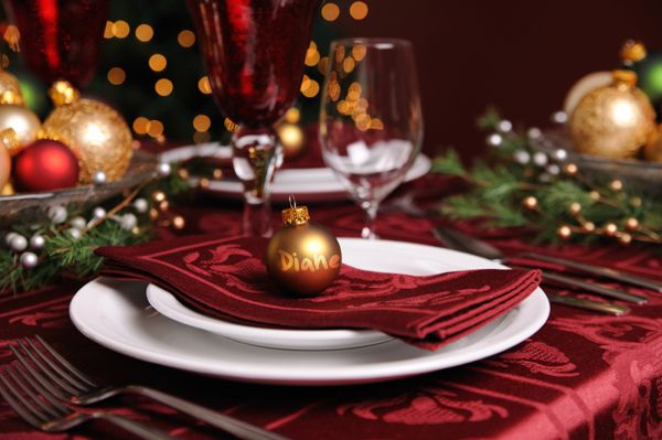 Set your table | Place card, Christmas place and Card ideas