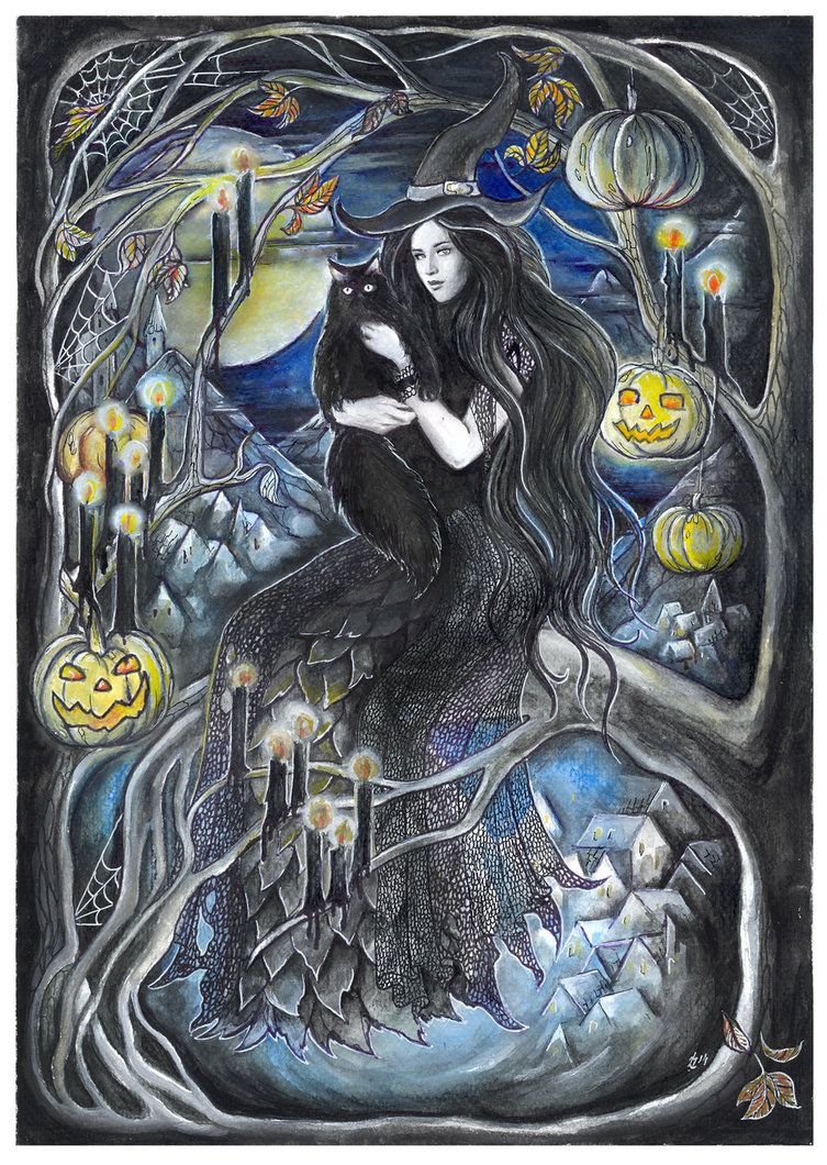 Halloween, by Janka Lart .