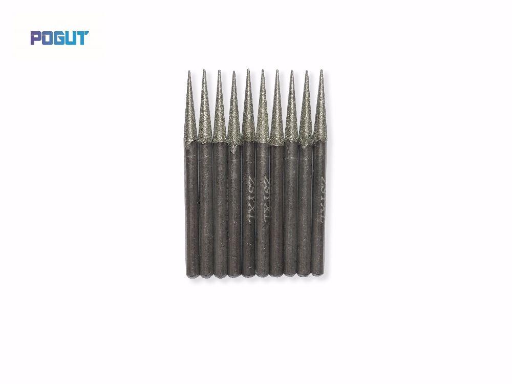 90Pcs Diamond Burr Bits Drill Kit For Engraving Carving Dremel Rotary Tool US