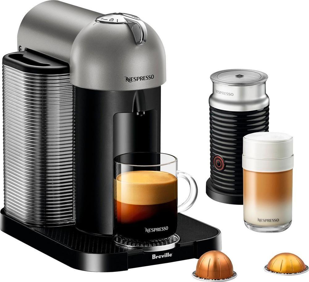 Breville Nespresso Vertuo Coffeemaker Titan Coffee