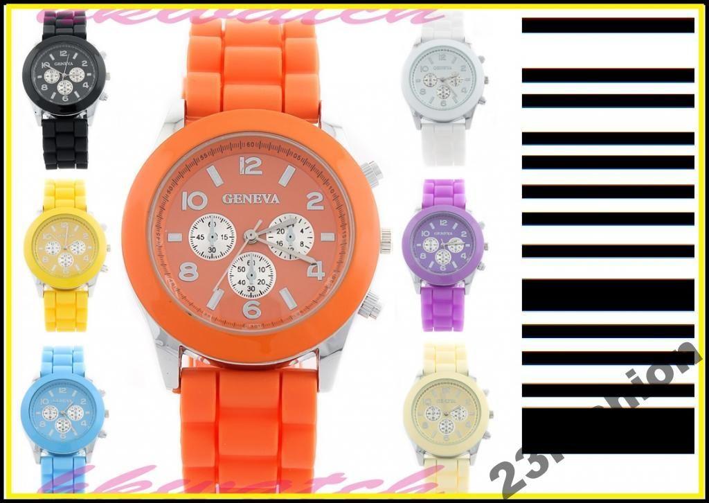 Zegarek Damski Meski Geneva Zelowy Jelly Kolory 3645911587 Oficjalne Archiwum Allegro Bracelet Watch Favorite Outfit Michael Kors Watch