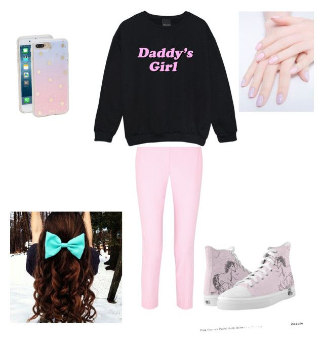 Pastel cutie by littlemarshmallow1226 on Polyvore featuring polyvore, fashion, style, Michael Kors, Sonix and clothing
