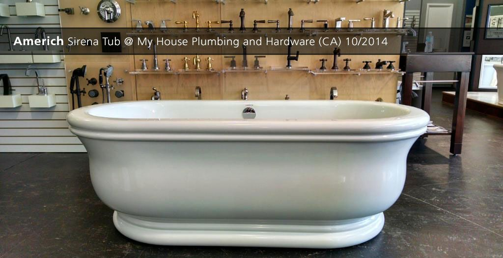 Americh Sirena Tub My House Plumbing And Hardware Ca 10 2014 Tub