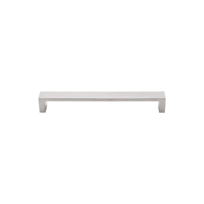 Top Knobs TK252 Modern Metro 7 Inch Center To Center Handle Cabinet Pull  Brushed Stainless Steel