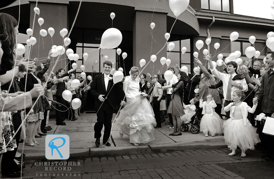 Bride Groom Send Off Balloon Release Just Be Sure To Get Ones That Are Safe For The Environment