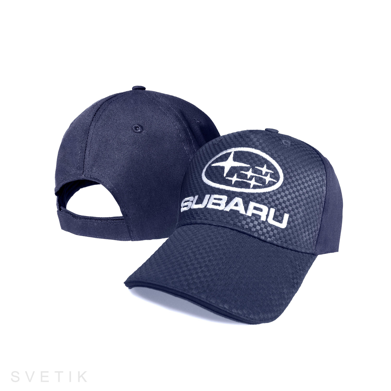 CARBON Subaru Navy Blue Baseball Cap Embroidered Auto Car Logo ... 658ef62aea6