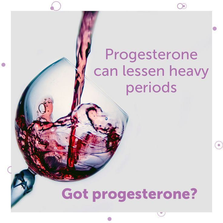 Got progesterone? Just because you're having periods doesn