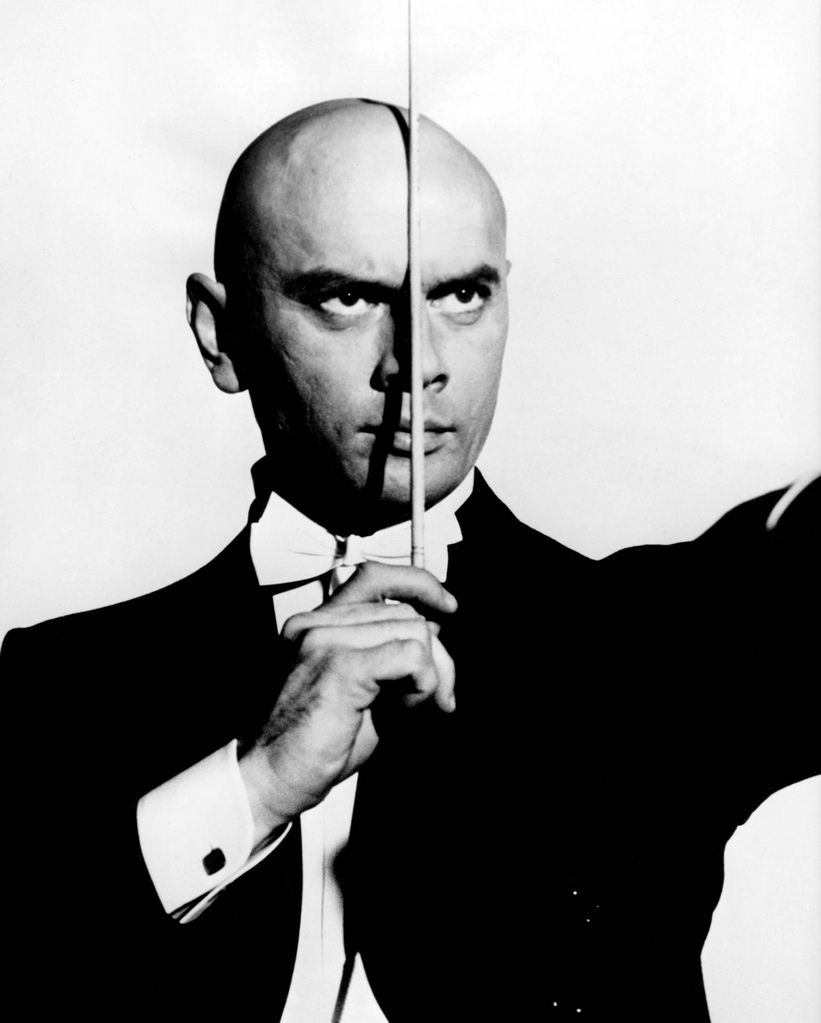 Canvas Yul Brynner Actor Movie Art Print Poster