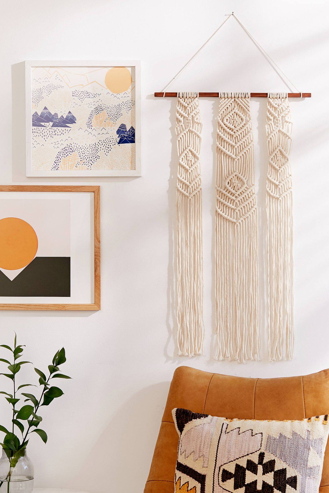 hanging chair urban outfitters wedding cover hire rugby fallon macrame wall