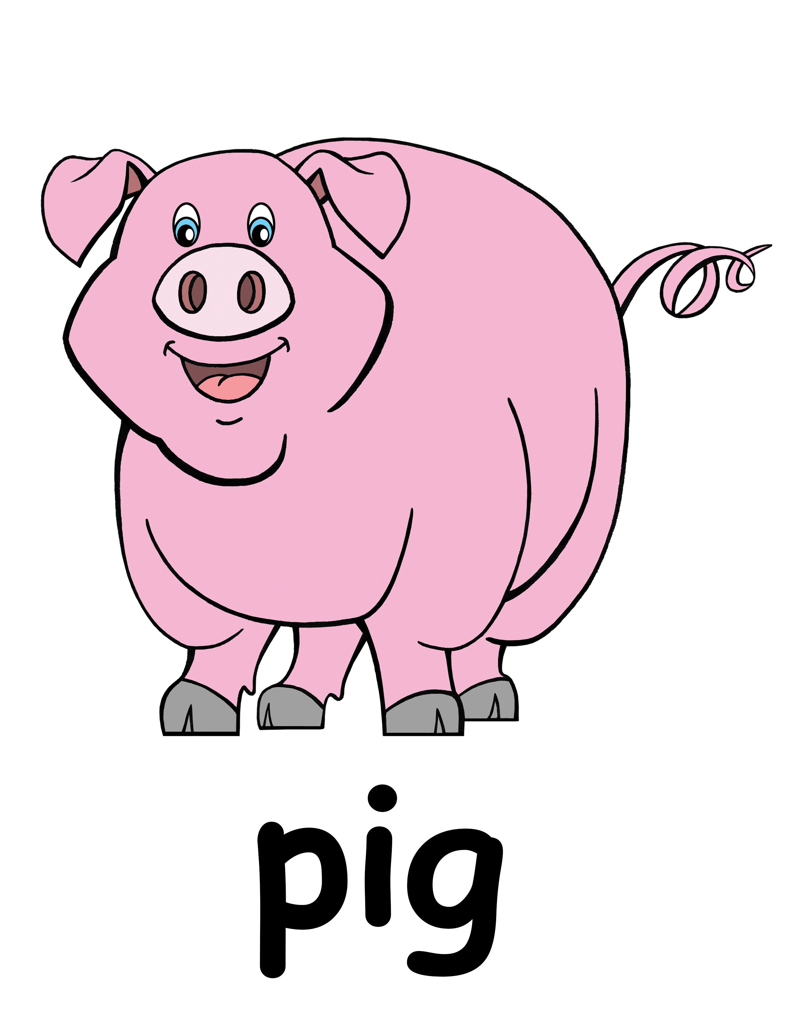 pig in mud cartoon farm clipart free clip art image image [ 2550 x 3300 Pixel ]
