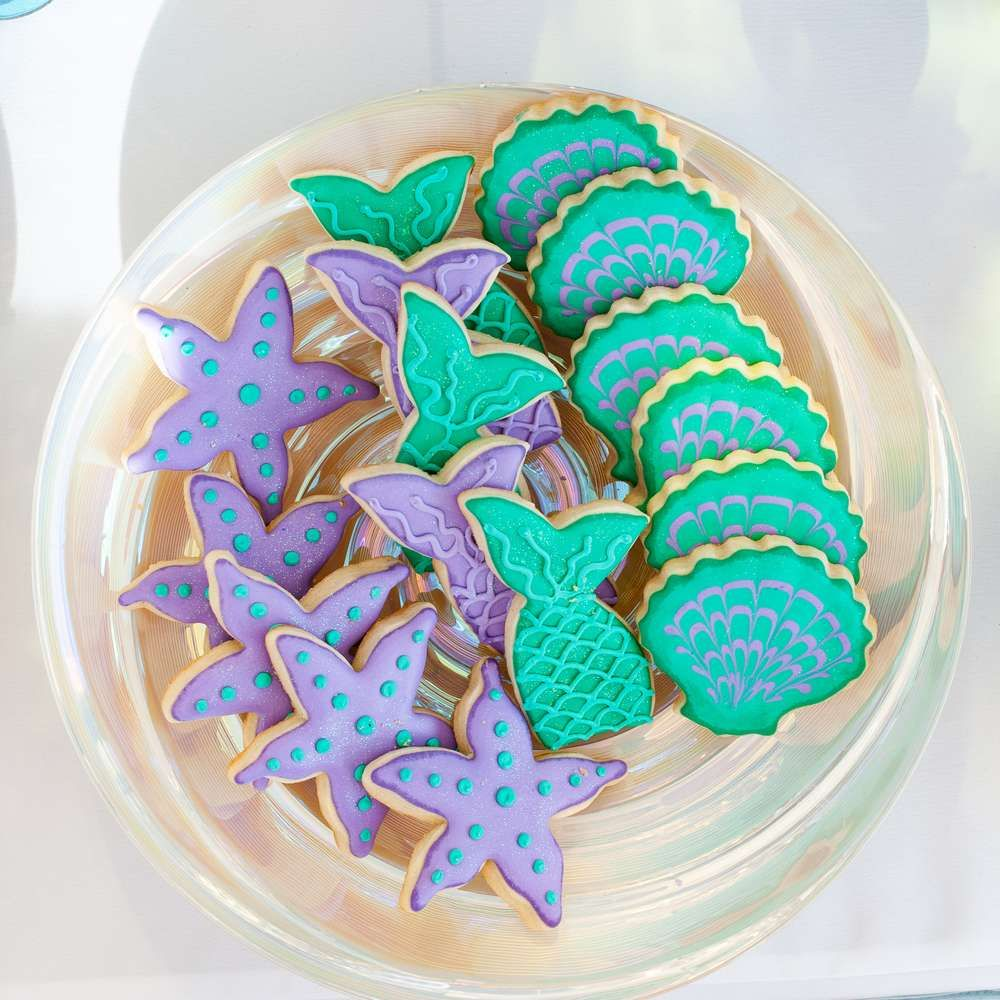 Mermaid Birthday Party Ideas | Photo 7 of 25 | Catch My Party
