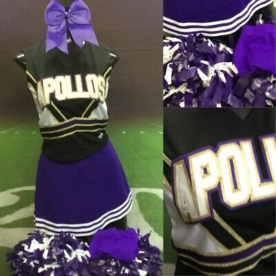 Details about Real Cheerleading Uniform Adult SM 6pc #cheerleaderuniform