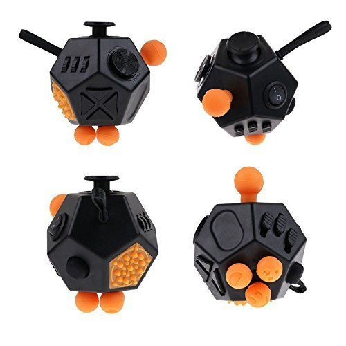 Capsloc Fidget Cube Dodecagon 12 Sided - Fidget Toy Relie... https:/