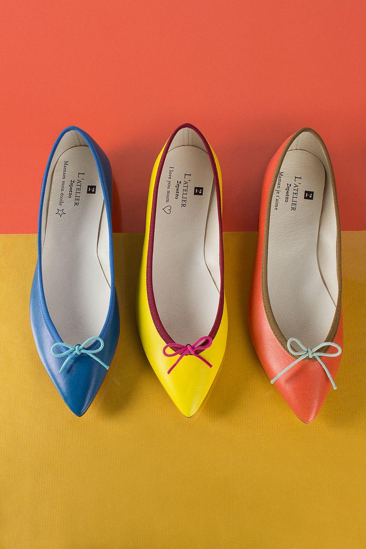 L'Atelier Repetto Brigitte, the new customized style