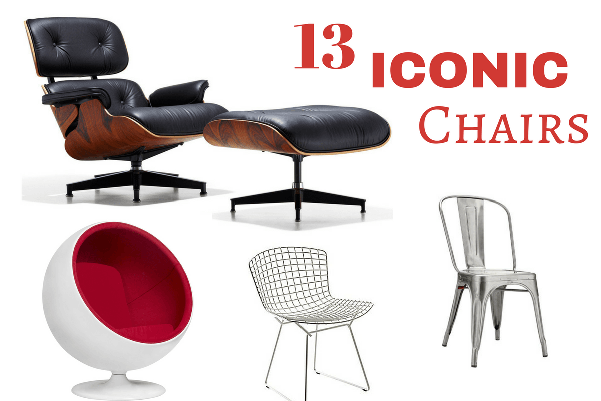 High Quality A Practical Piece Of Furniture, The Chair! There Are Many Famous Designs  And Styles Out There, Do You Know Their Names? Maybe This Will Help You Out  With ...