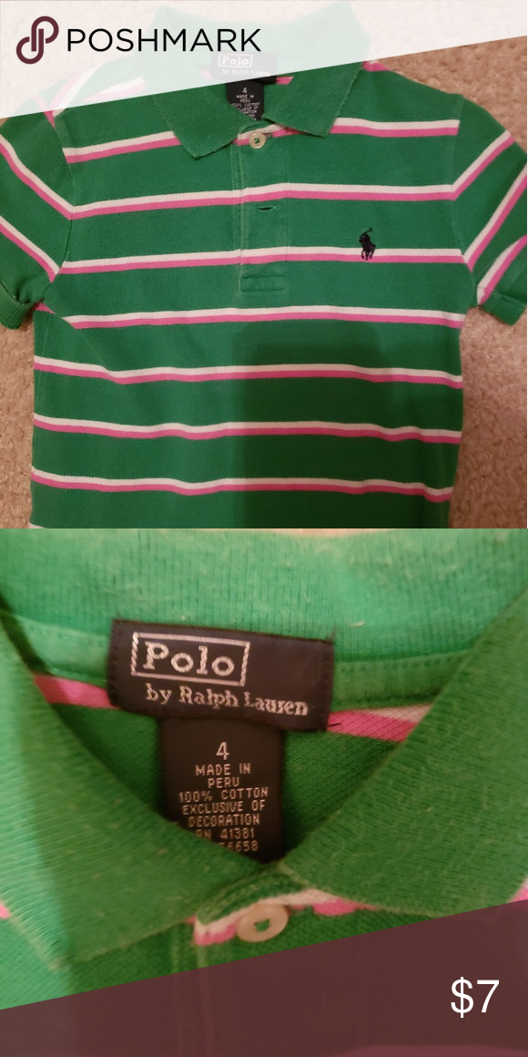 f649e3aa9 Boy's Ralph Lauren Polo 4t Shirt Decent Condition... Comes from smoke free  home... No rips or stains Polo by Ralph Lauren Shirts & Tops Polos