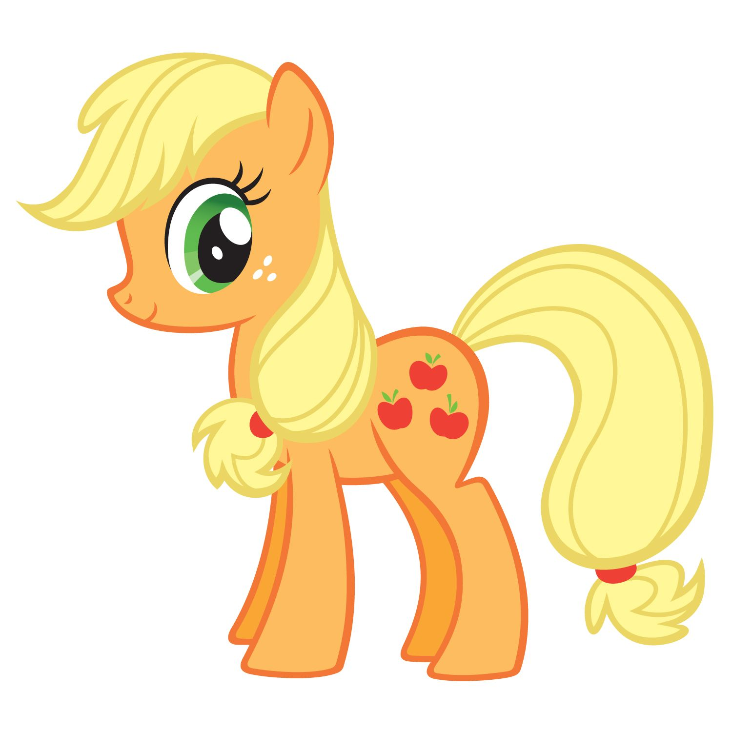 5594 applejack my little - photo #6
