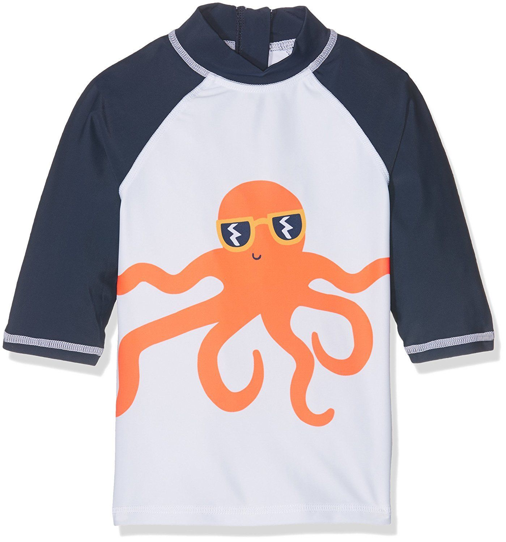 16f04b19b4c1a Mothercare Baby Boys' Jb Swimwear Octopus Novelty Rash Vest Tank Top ...
