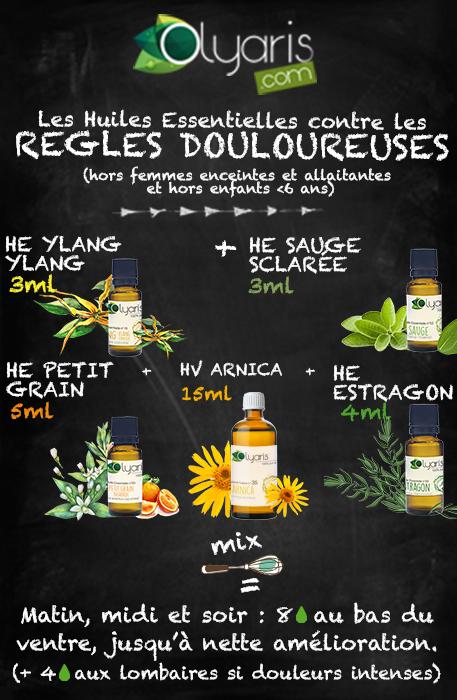 Règles douloureuses et huiles essentielles: le remède naturel et efficace