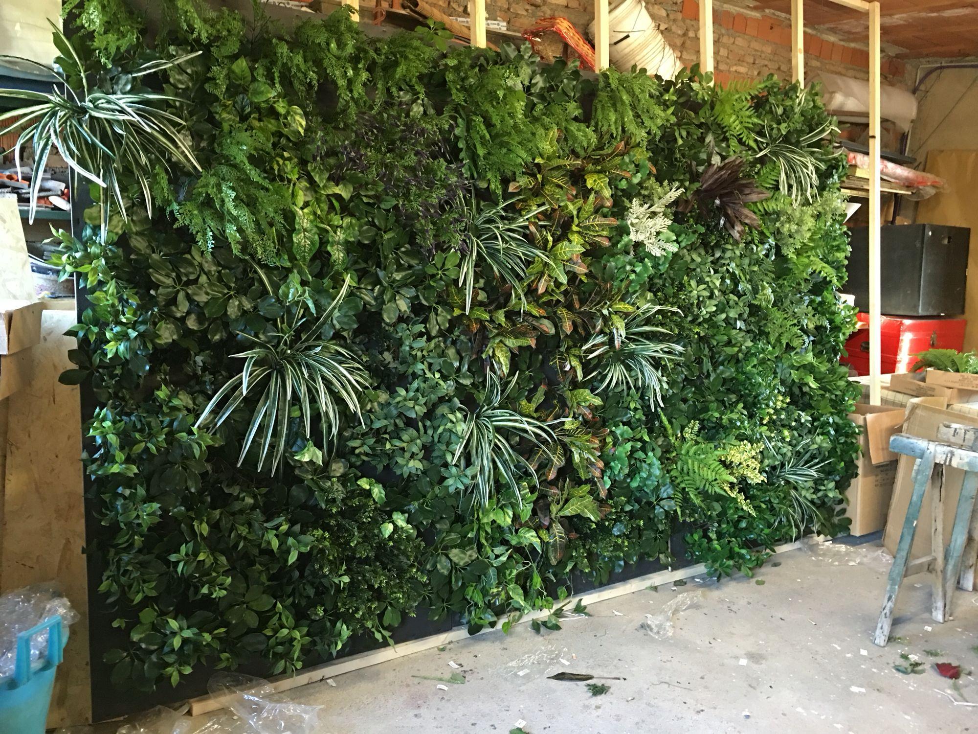 Giardino verticale quadri e pareti di giardino verticale - Giardino verticale interno ...